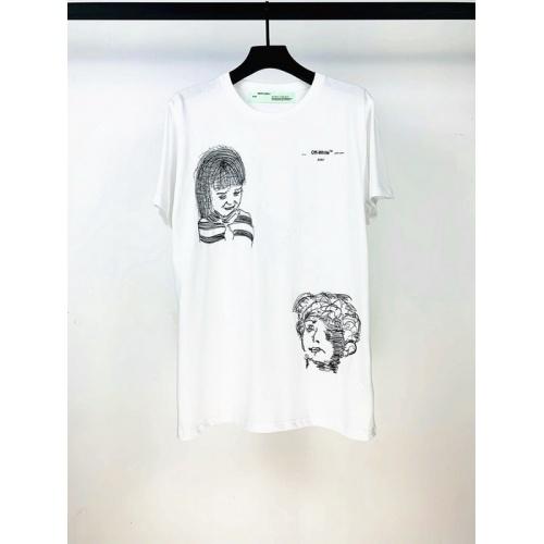 Off-White T-Shirts Short Sleeved O-Neck For Men #759384