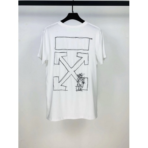 Off-White T-Shirts Short Sleeved O-Neck For Men #759387