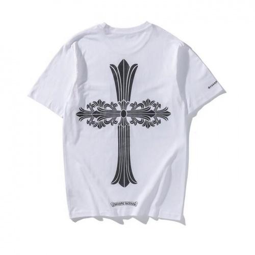Chrome Hearts T-Shrits Short Sleeved O-Neck For Men #759651