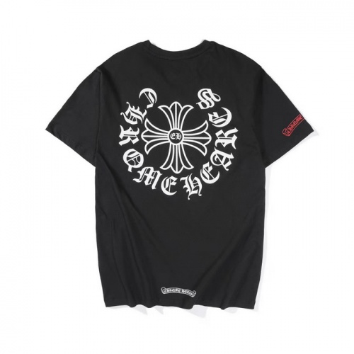Chrome Hearts T-Shrits Short Sleeved O-Neck For Men #759654