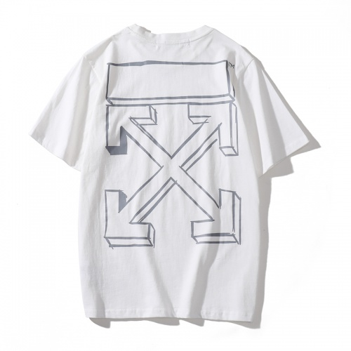 Off-White T-Shirts Short Sleeved O-Neck For Men #759765