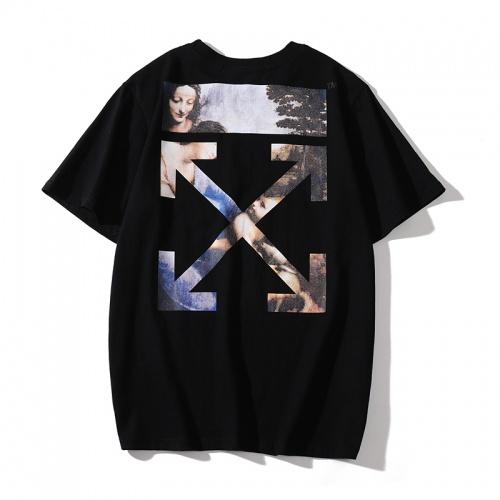 Off-White T-Shirts Short Sleeved O-Neck For Men #759769