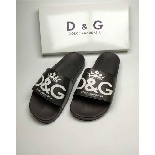 Dolce & Gabbana D&G Slippers For Men #760000