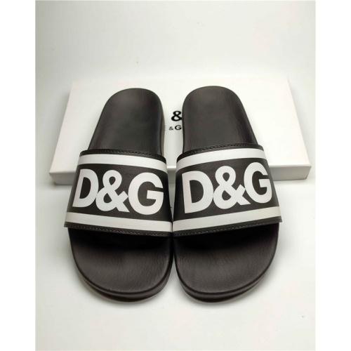 Dolce & Gabbana D&G Slippers For Men #760006