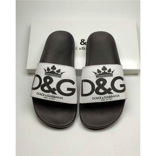 Dolce & Gabbana D&G Slippers For Women #760050