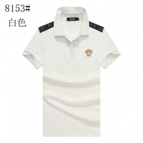 Versace T-Shirts Short Sleeved Polo For Men #760070