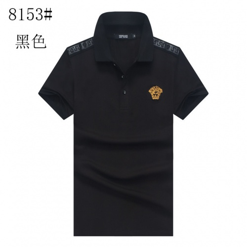 Versace T-Shirts Short Sleeved Polo For Men #760072
