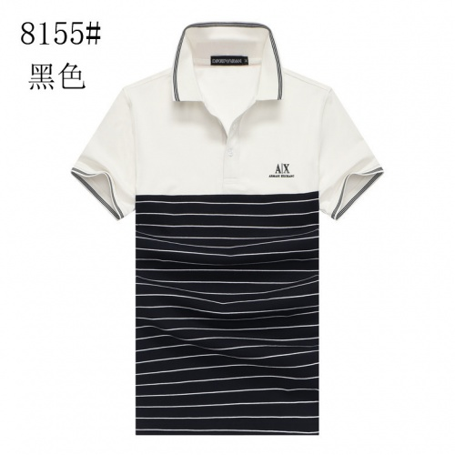 Armani T-Shirts Short Sleeved Polo For Men #760073