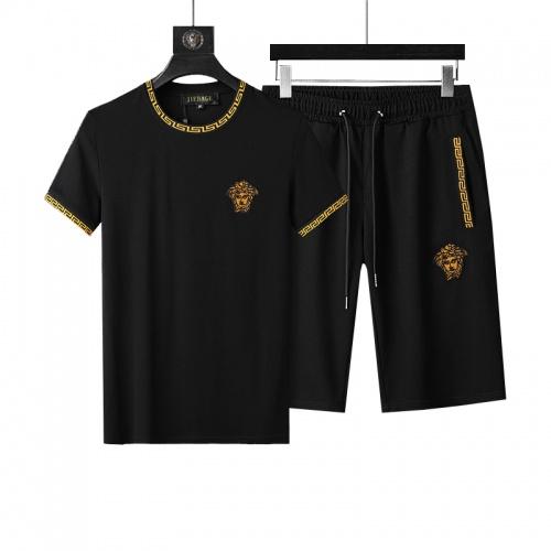 Versace Tracksuits Short Sleeved O-Neck For Men #760970