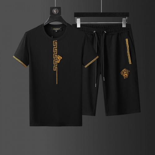 Versace Tracksuits Short Sleeved O-Neck For Men #760972