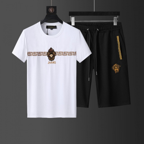 Versace Tracksuits Short Sleeved O-Neck For Men #760975