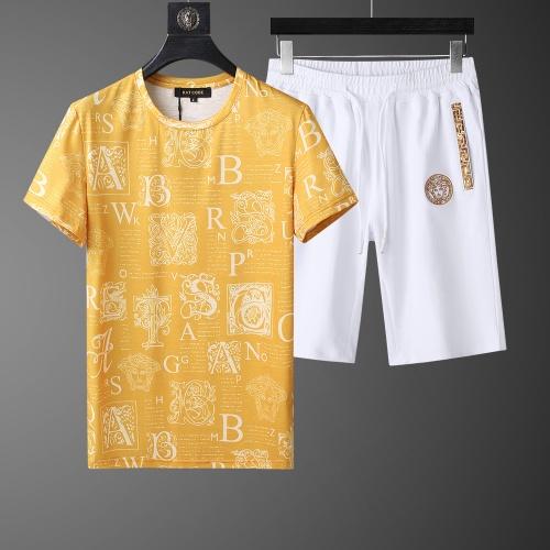 Versace Tracksuits Short Sleeved O-Neck For Men #760978