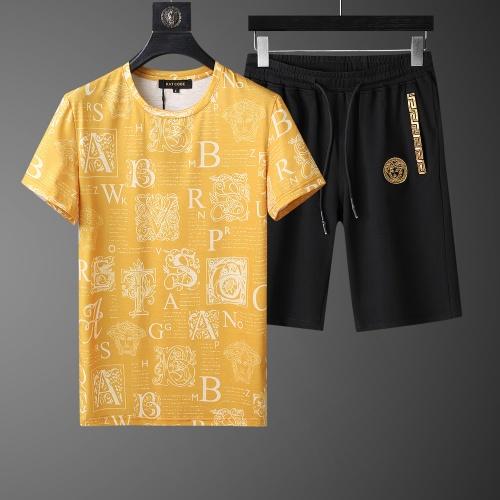 Versace Tracksuits Short Sleeved O-Neck For Men #760979