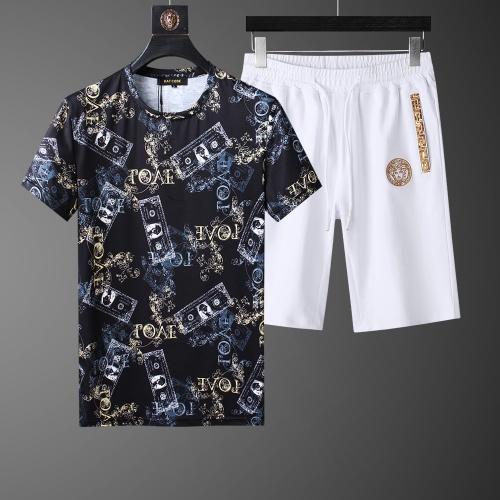 Versace Tracksuits Short Sleeved O-Neck For Men #760987