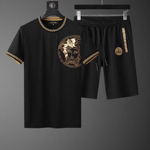 Versace Tracksuits Short Sleeved O-Neck For Men #760991