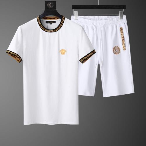 Versace Tracksuits Short Sleeved O-Neck For Men #760994