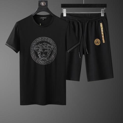 Versace Tracksuits Short Sleeved O-Neck For Men #760996
