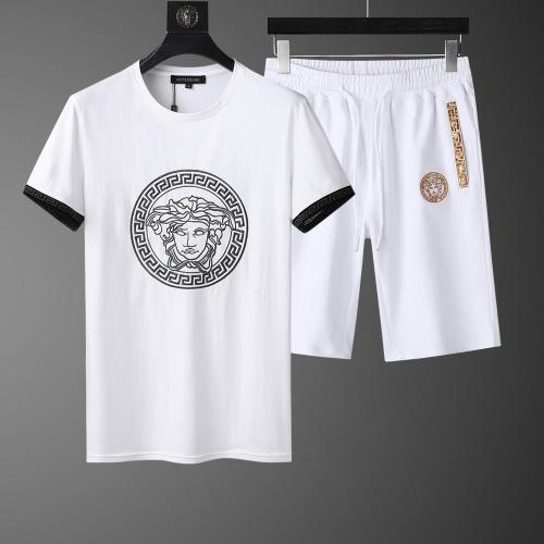 Versace Tracksuits Short Sleeved O-Neck For Men #760998
