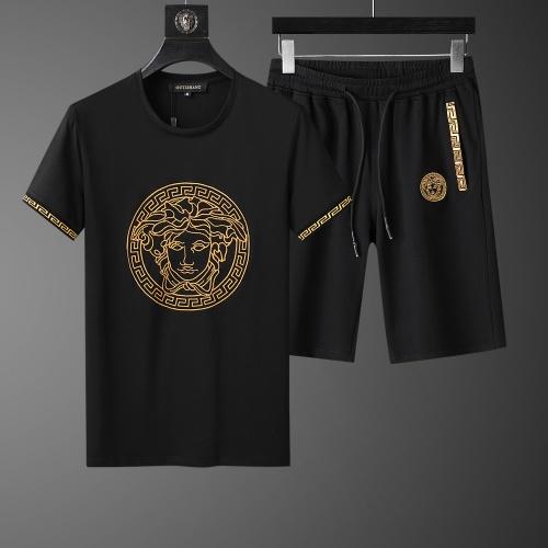 Versace Tracksuits Short Sleeved O-Neck For Men #761013