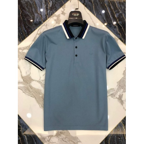 Armani T-Shirts Short Sleeved Polo For Men #761207