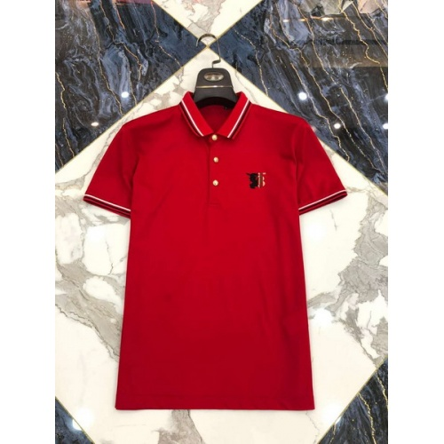 Burberry T-Shirts Short Sleeved Polo For Men #761211
