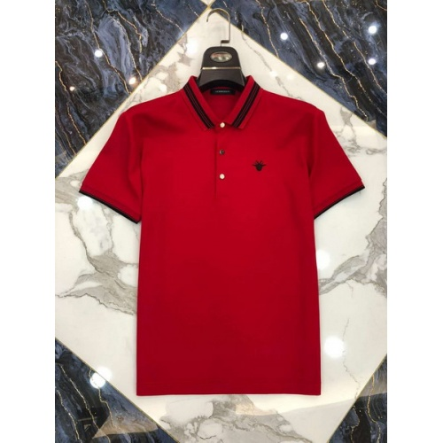 Christian Dior T-Shirts Short Sleeved Polo For Men #761220
