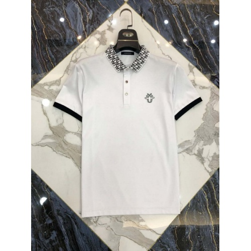 Christian Dior T-Shirts Short Sleeved Polo For Men #761225