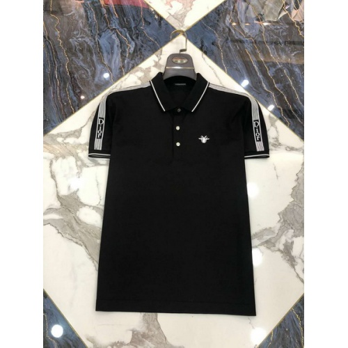 Christian Dior T-Shirts Short Sleeved Polo For Men #761228