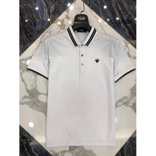 Christian Dior T-Shirts Short Sleeved Polo For Men #761230