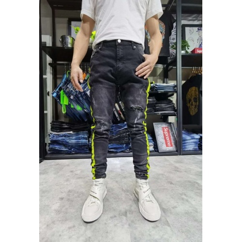 Philipp Plein PP Jeans Trousers For Men #761272