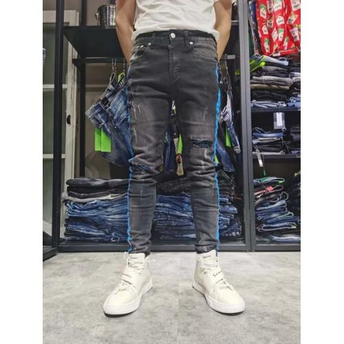 Philipp Plein PP Jeans Trousers For Men #761274