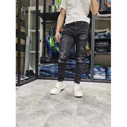 Philipp Plein PP Jeans Trousers For Men #761275