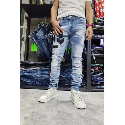Philipp Plein PP Jeans Trousers For Men #761279