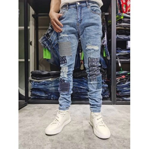 Philipp Plein PP Jeans Trousers For Men #761281