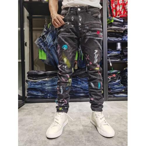 Philipp Plein PP Jeans Trousers For Men #761284