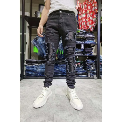 Philipp Plein PP Jeans Trousers For Men #761285