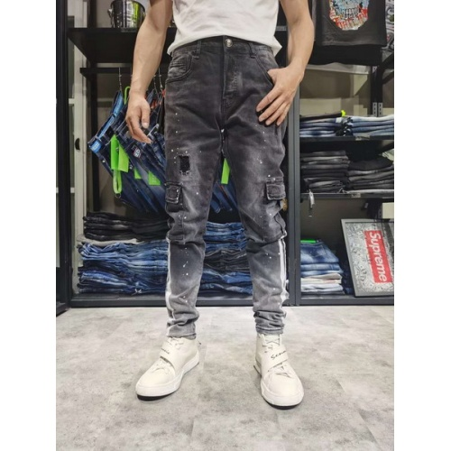 Philipp Plein PP Jeans Trousers For Men #761287