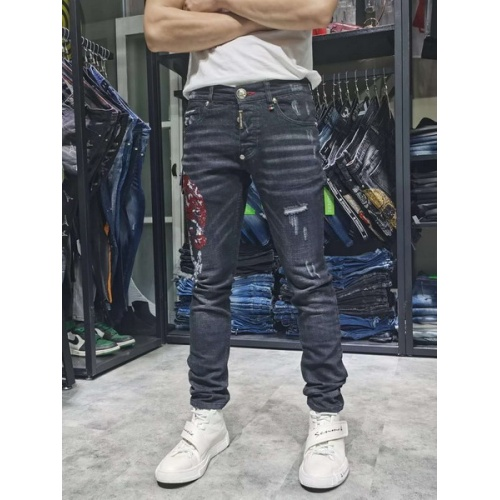 Philipp Plein PP Jeans Trousers For Men #761302
