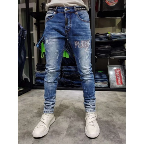 Philipp Plein PP Jeans Trousers For Men #761309