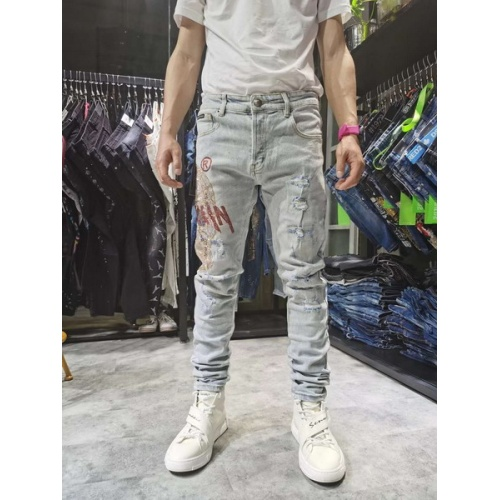 Philipp Plein PP Jeans Trousers For Men #761314