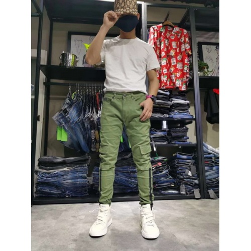 Philipp Plein PP Jeans Trousers For Men #761318