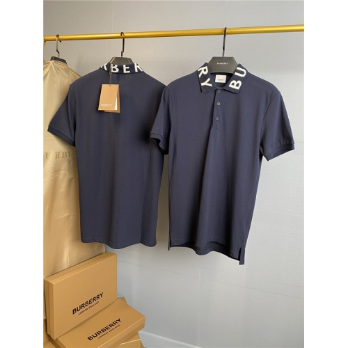 Burberry T-Shirts Short Sleeved Polo For Men #761353