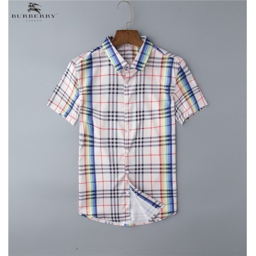 Burberry Shirts Short Sleeved Polo For Men #761436