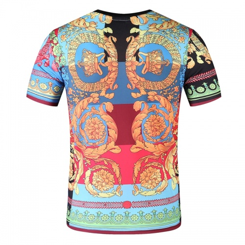 Replica Versace T-Shirts Short Sleeved O-Neck For Men #761473 $24.25 USD for Wholesale