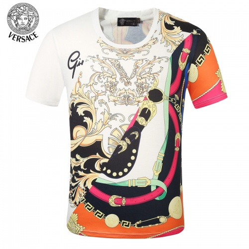 Versace T-Shirts Short Sleeved O-Neck For Men #761474