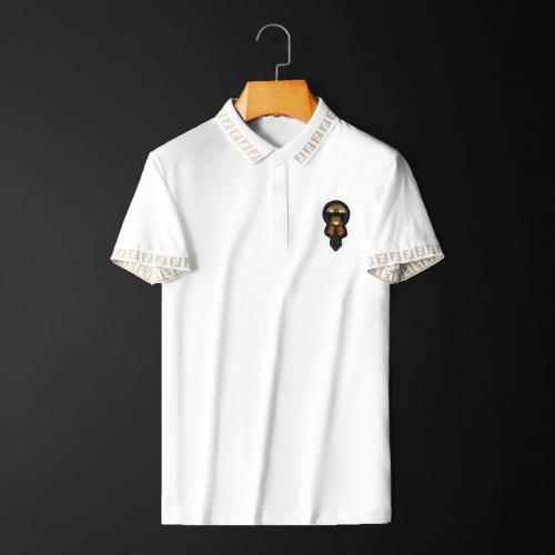 Fendi T-Shirts Short Sleeved Polo For Men #761839