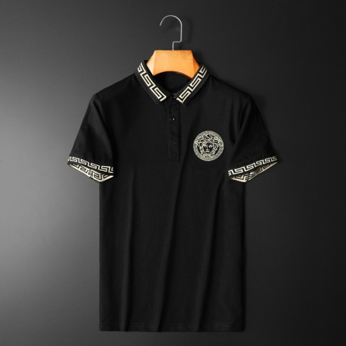 Versace T-Shirts Short Sleeved Polo For Men #761840