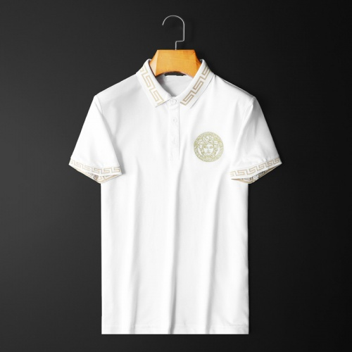 Versace T-Shirts Short Sleeved Polo For Men #761841