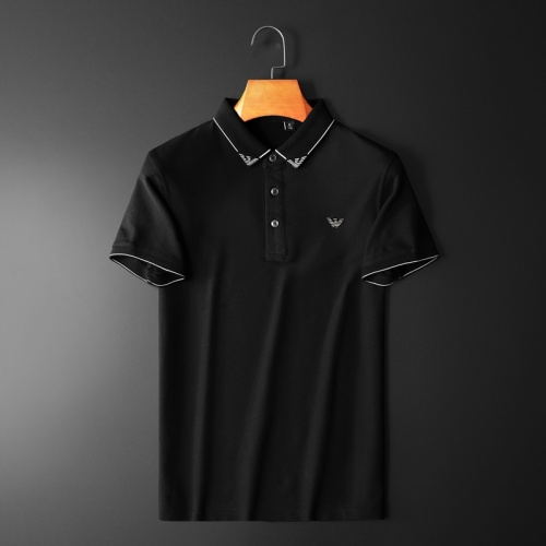 Armani T-Shirts Short Sleeved Polo For Men #761843