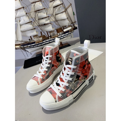 Christian Dior High Tops Shoes For Men #762097